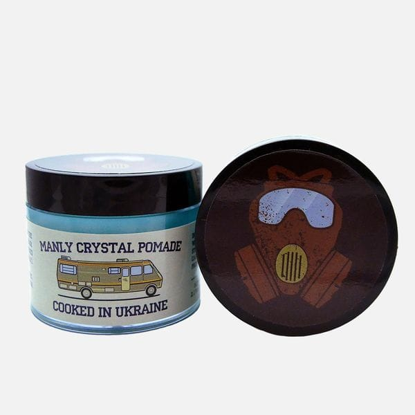 Помада для укладки Manly Crystal Pomade на водной основе, фото 2