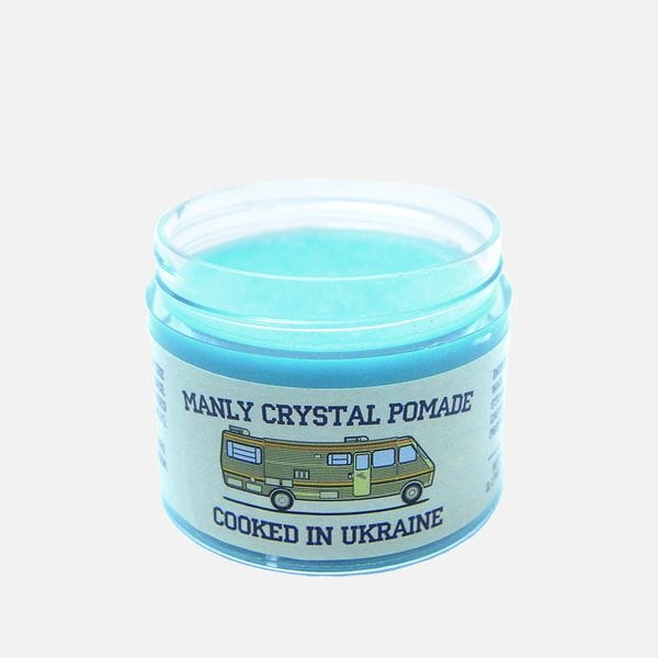Помада для укладки Manly Crystal Pomade на водной основе, фото 1