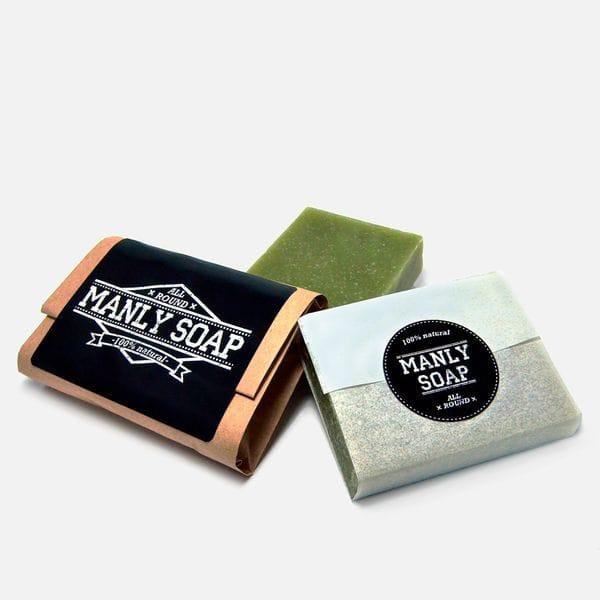 Мужицкое универсальное мыло Manly Soap all round, купить в интернет-магазине Brutalbeard