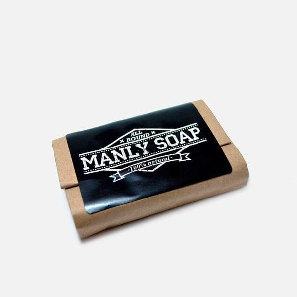 Мужицкое универсальное мыло Manly Soap all round, фото 1