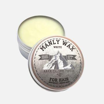 Воск для укладки волос Manly Wax White сильной фиксации