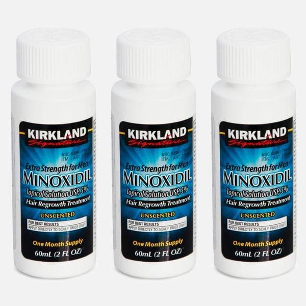 Лосьон для роста волос Kirkland Minoxidil 5% (3мес.) курс, купить в интернет-магазине Brutalbeard