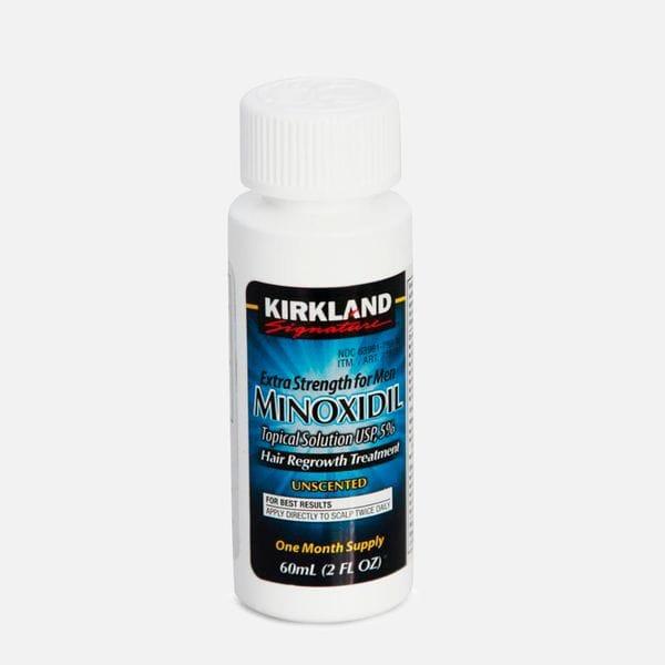 Лосьон Minoxidil Kirkland 5% (1мес.) для роста волос, купить в интернет-магазине Brutalbeard