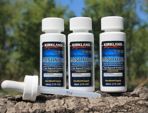Лосьон Minoxidil Kirkland 5% (1мес.) для роста волос, фото 1