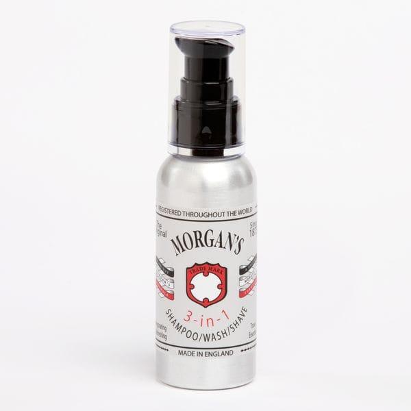 MORGAN'S 3 в 1 Шампунь, гель для душа, средство для бритья 100 мл, купить в интернет-магазине Brutalbeard