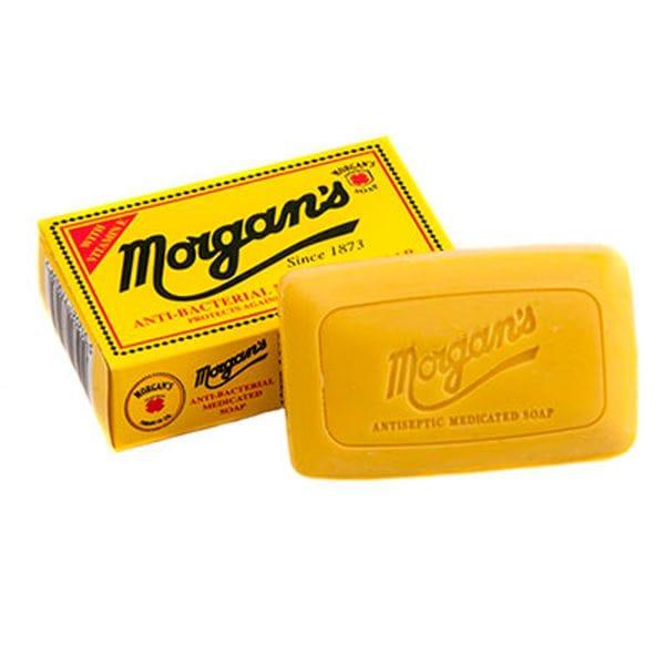 MORGAN'S Антибактериальное лечебное мыло 80 г, купить в интернет-магазине Brutalbeard