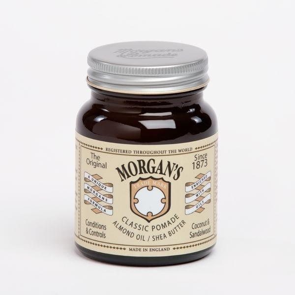 MORGAN'S Классическая помада с миндальным маслом и маслом ши 100ml, купить в интернет-магазине Brutalbeard