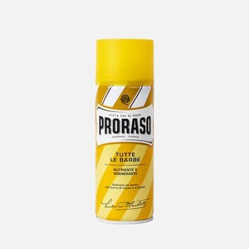 Пена для бритья Proraso какао и масло дерева ши для сухой кожи 400 мл
