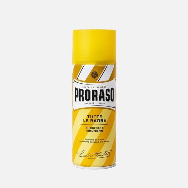 Пена для бритья Proraso какао и масло дерева ши для сухой кожи 400 мл, купить в интернет-магазине Brutalbeard