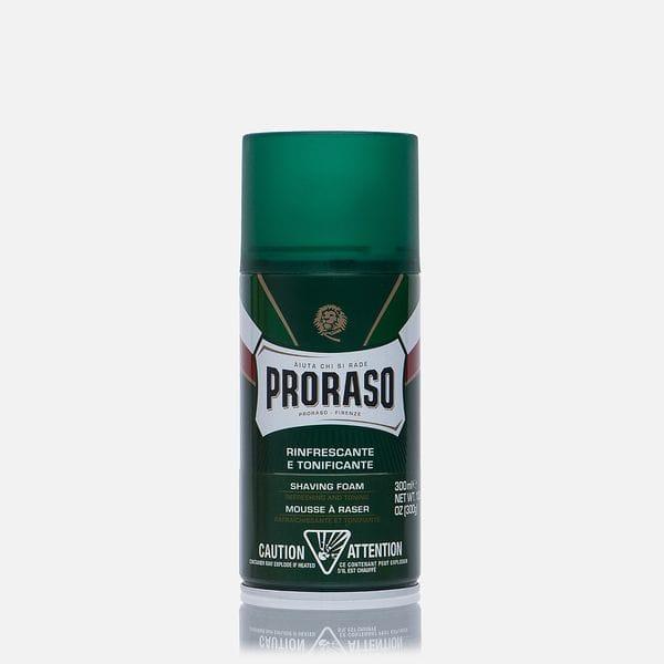 Пена для бритья Proraso Refreshing And Toning Large Eucalyptus Oil And Menthol 400 мл, купить в интернет-магазине Brutalbeard