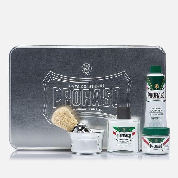 Подарочный набор для бритья Proraso Classic Full Shaving Metal Box, купить в интернет-магазине Brutalbeard