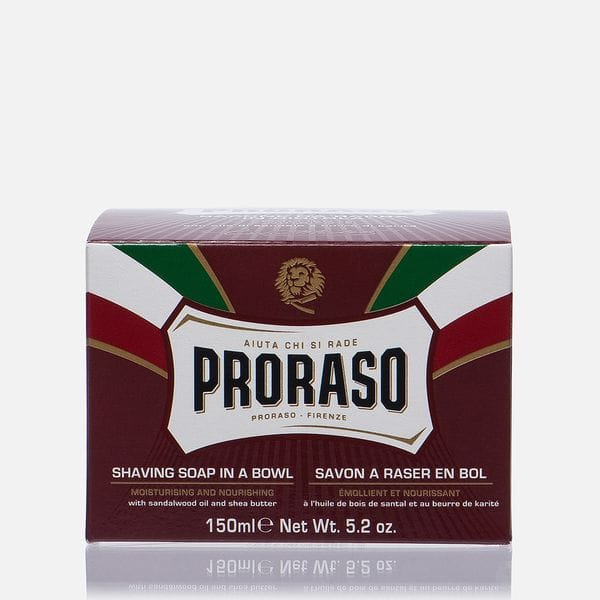 Мыло для бритья Proraso Sandalwood Oil And Shea Butter 150ml, фото 1