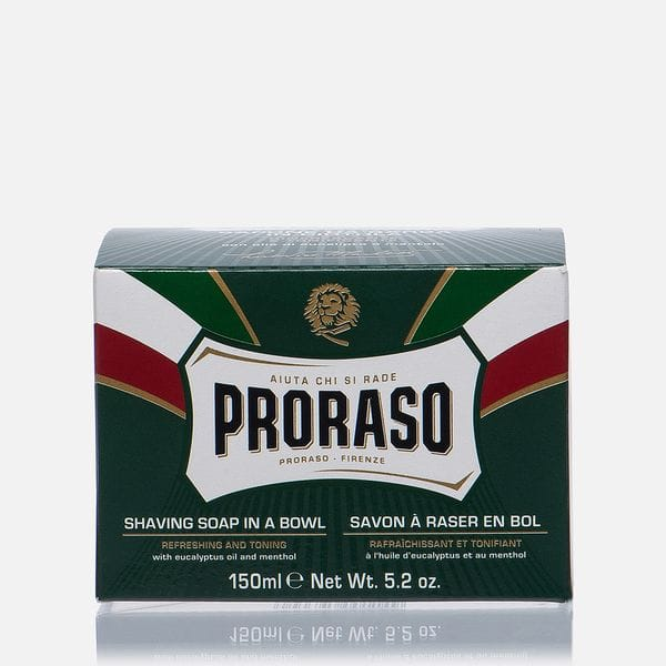 Мыло для бритья Proraso Eucalyptus Oil And Menthol 150ml, фото 2