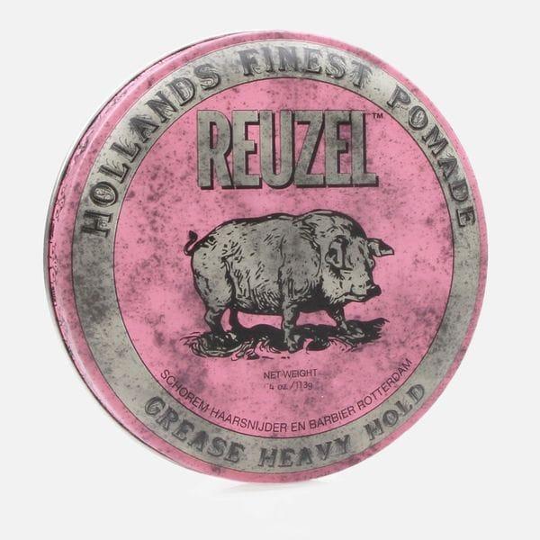 Помада для укладки волос Reuzel grease heavy hold сильной фиксации, купить в интернет-магазине Brutalbeard