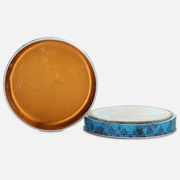 Синяя помада Reuzel strong hold high sheen pomade сильной фиксации, фото 2