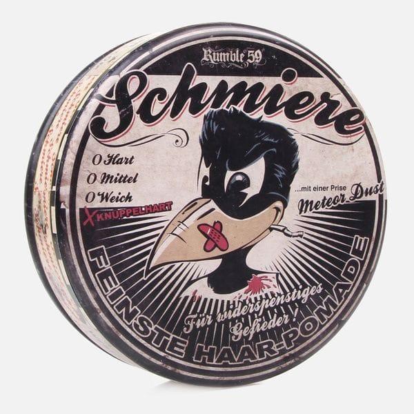 Помада Schmiere Rock Hard Hair Pomade Meteor Dust для укладки волос сверхсильной фиксации, купить в интернет-магазине Brutalbeard