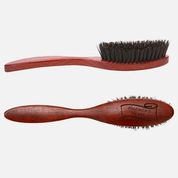 Щетка для бороды Solomon's beard Beard Brush Handle с ручкой