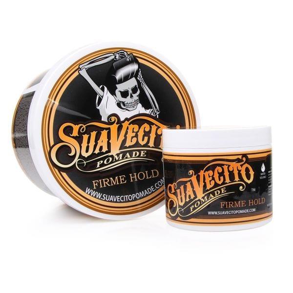 Suavecito Firme (Strong) Hold Pomade, 113gr - сильной фиксации на водной основе, купить в интернет-магазине Brutalbeard