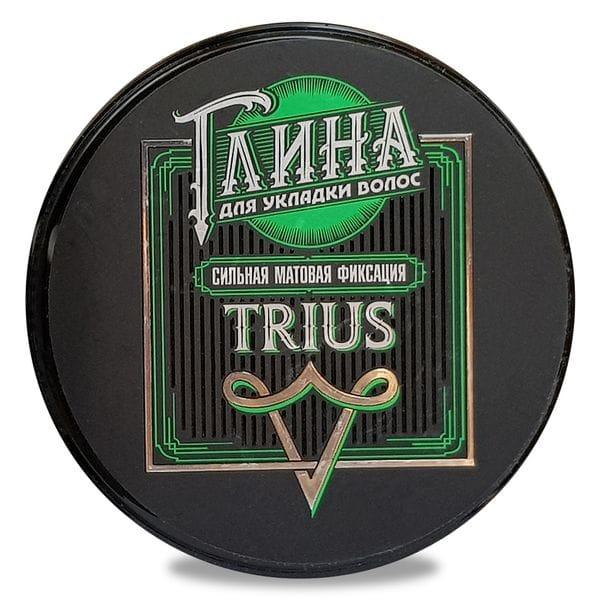 Глина для укладки волос Trius, купить в интернет-магазине Brutalbeard