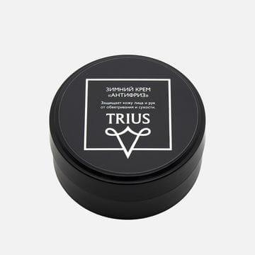 Мужской зимний крем антифриз для лица и рук Trius