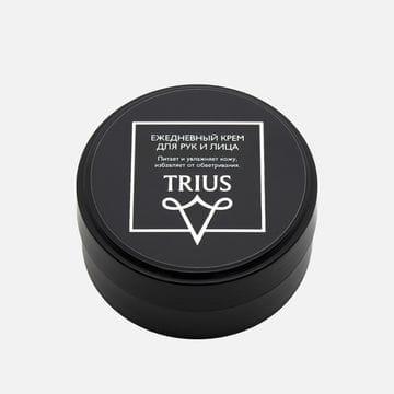 Ежедневный мужской крем для лица и рук Trius