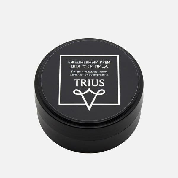 Ежедневный мужской крем для лица и рук Trius, купить в интернет-магазине Brutalbeard