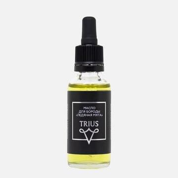 Масло для бороды Trius Premium Ледяная мята