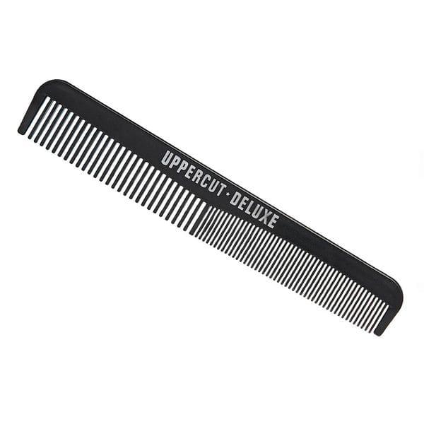 Расческа Uppercut Deluxe Black Pocket Comb, купить в интернет-магазине Brutalbeard