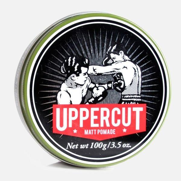 Матовая помада Uppercut Deluxe Matt Pomade на водной основе средней фиксации, купить в интернет-магазине Brutalbeard