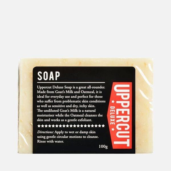 Мыло для лица и тела Uppercut Deluxe, купить в интернет-магазине Brutalbeard