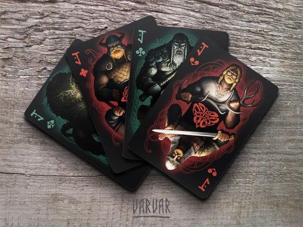 Игральные карты в лучших традициях германо-скандинавской мифологии Varvar, фото 3