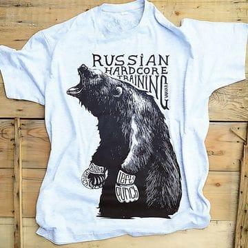 Футболка русский медведь Varvar