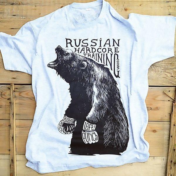 Футболка русский медведь Varvar, купить в интернет-магазине Brutalbeard