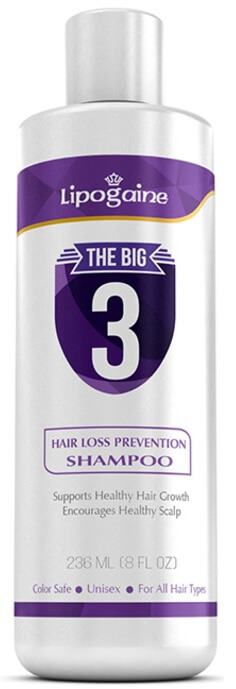 Lipogaine The Big 3 Shampoo