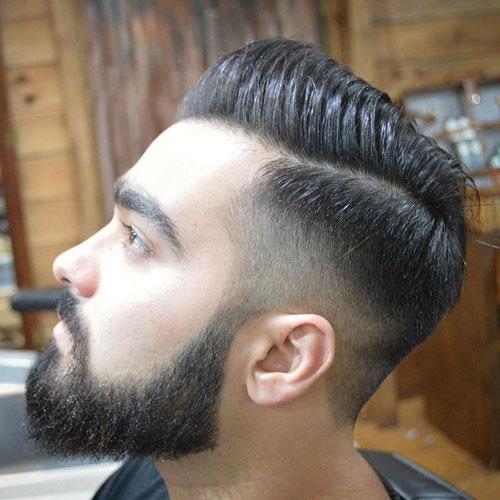 Андеркат с бородой в тренде