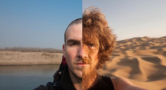 Разный рост волос на бороде