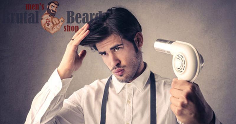 Уход за волосами мужчинам фен